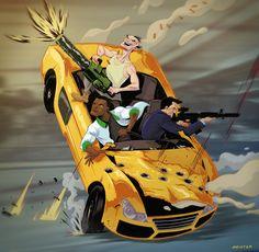 #GTA V by Meistermash