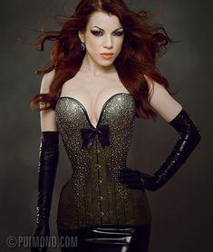rhinestone corsets