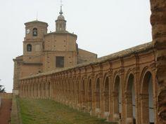 Basílica barroca de la Vírgen del Romero en Cascante, en la Ribera de Navarra (marzo 2010). © Javier Mesa