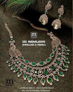 You Can Shop Iconic Diamond Jewellery Collections Here Royal Jewelry, Emerald Jewelry, Diamond Jewelry, Gold Jewellery, Indian Jewelry, Diamond Necklace Set, Emerald Necklace, Schmuck Design, Wedding Jewelry