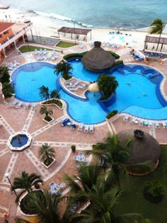 I went on an all girl trip to El Cozumeleño, all-inclusive resort, Cozumel, Mexico... BEAUTIFUL Is all I can say.
