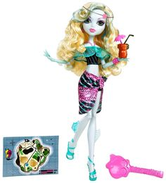Monster High Skull Shores Lagoona Blue Doll by Mattel Monster High Party, Monster High Dolls, Vampires, Personajes Monster High, Sailor Cap, Love Monster, Doll Shop, Little Doll, Doll Accessories