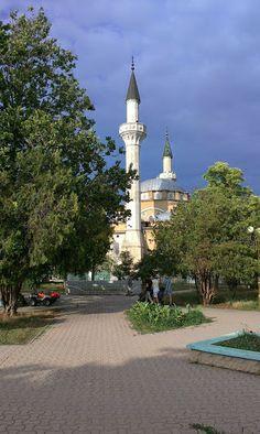 Мечеть Джума-Джами в Евпатории. 21 июня 2014 г.
