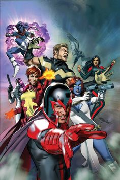 "Mike Mayhew - X-Men in ""Civil War II"""