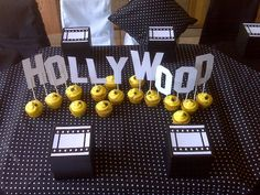 Hollywood Party Table