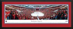 Washington Capitals Panoramic - Verizon Center Picture $199.95