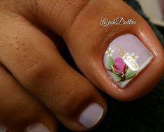 26 Ideias de Unhas Decoradas dos Pés Manicure, Nails, 35, Beautiful, Nail Ideas, Design, Toe Nails Red, Black Nails, Pretty Pedicures