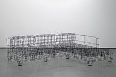 Wire Frame Furniture by NOIZ Architects