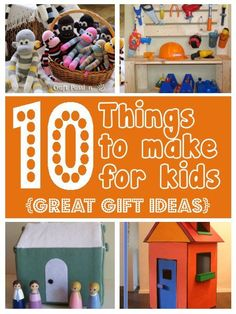 10 Cool Things to Make for Young Kids. | DIY home sweet home | Bloglovin'