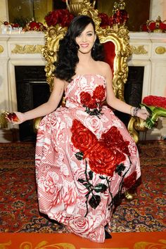 killer queen katy perry | Katy Perry at her fragrance sneak preview - Celebrity Fashion (Glamour ...