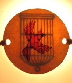 Bird Cage Optical Illusion. This is in Sleepy Hollow with Johnny Depp, I love it.