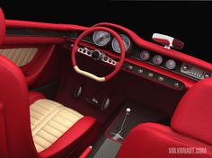 FAB WHEELS DIGEST (F.W.D.): 2009 VOX Volvo P1800 Custom Concept u can buy this today
