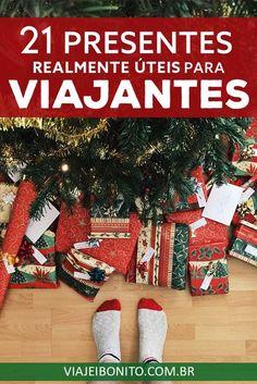 21 presentes realmente úteis para viajantes #viagem #natal #presente #dicasdeviagem