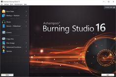 Ashampoo Burning Studio is the all-round tool for all CD, DVD and Blu-ray disc burning tasks. The main focus of this faster, more pow...