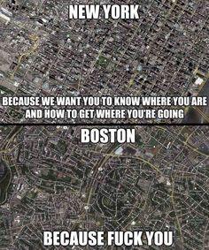 New York vs Boston