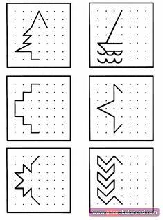 Noktalı Simetri (Kodlamaya başlangıç çalışması) Preschool Learning Activities, Preschool Curriculum, Teaching Kids, Kids Learning, Coding For Kids, Math For Kids, Visual Perceptual Activities, Preschool Writing, Kids Math Worksheets