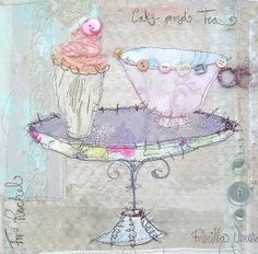Cake & Tea by priscillajones, via Flickr