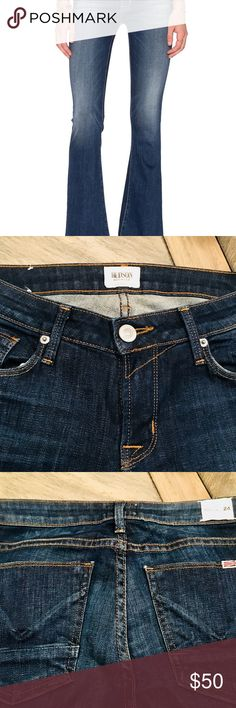 Hudson Jeans size 24 fits like a 26- new condition Mia flare Hudson jeans, like new Hudson Jeans Jeans Flare & Wide Leg