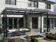 If you have decided to change the visual appearance of your outdoor areas and make it inviting, we can help you. Black Pergola, Metal Pergola, Outdoor Areas, Outdoor Structures, Melbourne, Steel, Outdoor Decor, Image, Gardens