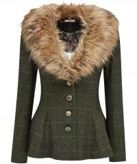 Fabulous Fur Collar Jacket