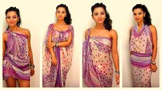 How to tie and style your sarong / pareo in 11 different ways - dianasai...