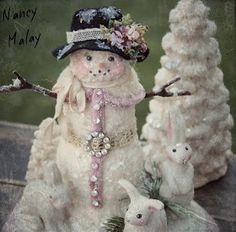 .snowlady and bunnies