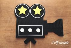 Movie Camera Photo Booth Prop | Hollywood Photo Prop