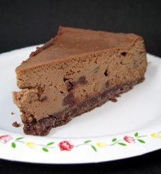 Mocha Chocolate Chip Cheesecake | Baking Bites