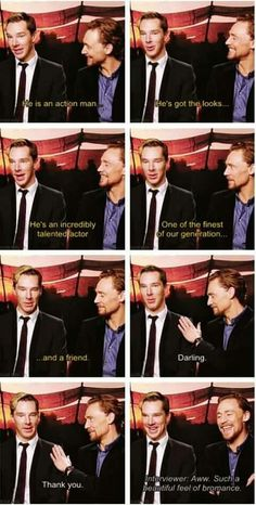 What is up with Benedict's hair?!