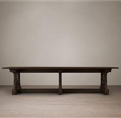 Circa 1900 Craftsman Rectangular Dining Table 108 inch $2595