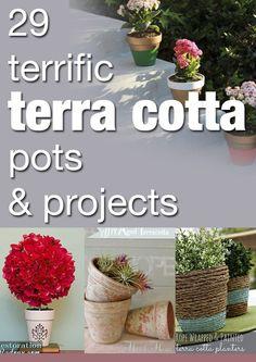 29 terrific terra cotta pots & projects