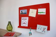 Photo of our new LDF Red Myosotis Notice board available now through our website.  www.psaltdesign.co.uk Beds, Website, Frame, Board, Home Decor, Products, Picture Frame, Decoration Home, Room Decor