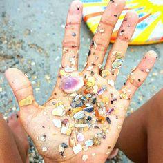Beach confetti!!