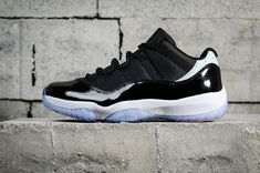 7739a9e1de4 Cheapest and Newest Air Jordan 11 Retro Low Concord 528895 153 Mens  Basketball Shoes Black White