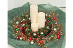 Nicole™ Crafts Holiday Candlescape