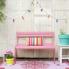 A touch of pink for the garden