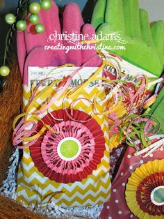 Here are some simple party favor bags using our pre-designed paper bags! So Easy! Read more on my blog here: http://www.creatingwithchristine.com/2015/04/brushed-party-favor-bags.html