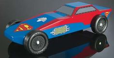RMXY9404 - Revell Pinewood Derby Superman Sports Car Racer
