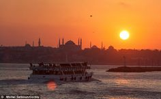 """A great article about Istanbul from Declan Warrington  Warrington says: """"If a city break's success can be measured by your enjoyment of it regardless of the weather, Istanbul is among the best getaway options in Europe.""""  http://www.dailymail.co.uk/travel/article-2549713/Ferries-history-idling-Istanbul-cosmopolitan-city-two-continents.html"""
