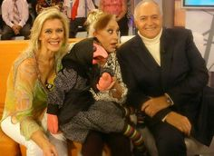 Mari Carmen, Doña Rogelia y Jose Luis Moreno