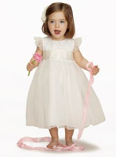 Isla Baby Ivory Bridesmaid Dress - young bridesmaids  - Wedding