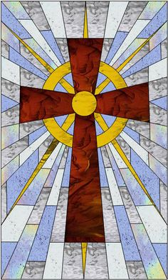 Christian Stained Glass Patterns | Free Stained Glass Patterns:
