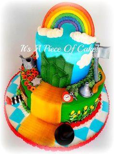 Wizard of Oz Cake for Addi @Danielle Davian :)