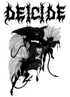 www.ononeonline.com Classic Deicide debut artwork