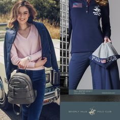 Monday's sporty finds to up your fall fashion game. These sporty threads get a majorly chic upgrade with cool colors, sparkly finishes, and cool details. Visit www.bhpoloclub.com  #bhpc #bhpoloclub #beverlyhillspoloclub #womensfashion #bhpcworld #poloclub #poloshirt #fashion #makeup #shirt #bag #backpack #fashionable #instafashion #style #musthave #weheartit #girly #classy #fashiondiaries #lookbook #jacket #ootd #dress #sporty #coat #elegant #horse