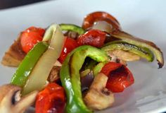 Roasting Vegetables - fast, easy and healthy. Tips to get more vegetables into your diet!