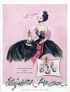 Elizabeth Arden (Perfumes) 1941 It's You