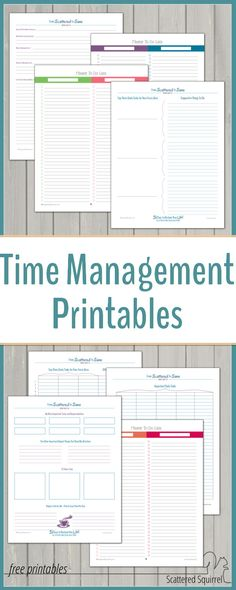 Management Take control of your time with these free time management printables.Take control of your time with these free time management printables. Time Management Techniques, Time Management Tools, Effective Time Management, Time Management Strategies, Time Management Planner, Office Management, Business Management, Stress Management, Time Management Printable