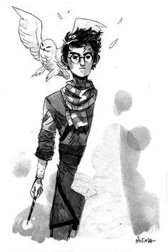 Harry Potter by Sam Bosma