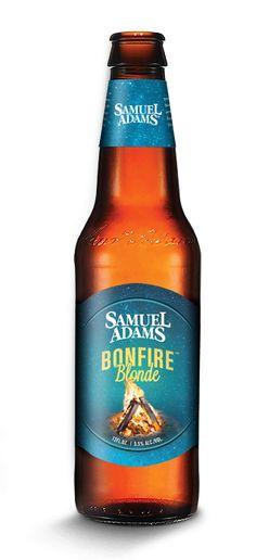 Samuel Adams - BonfireBlonde....smokiness of a Scottish Ale but easier drinking-tasty!
